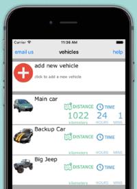 Device screenshot of ATO Vehicle Logbook app by John Lyons