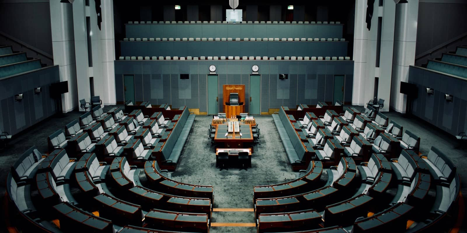 Chamber of the House of Representatives, Government House, Canberra
