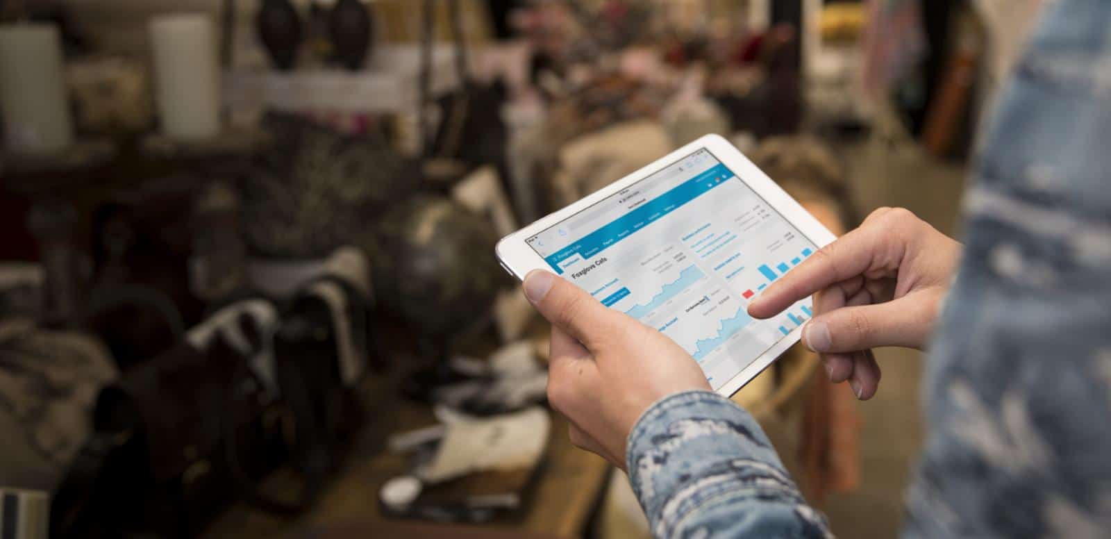 Xero Cloud Accounting on an iPad