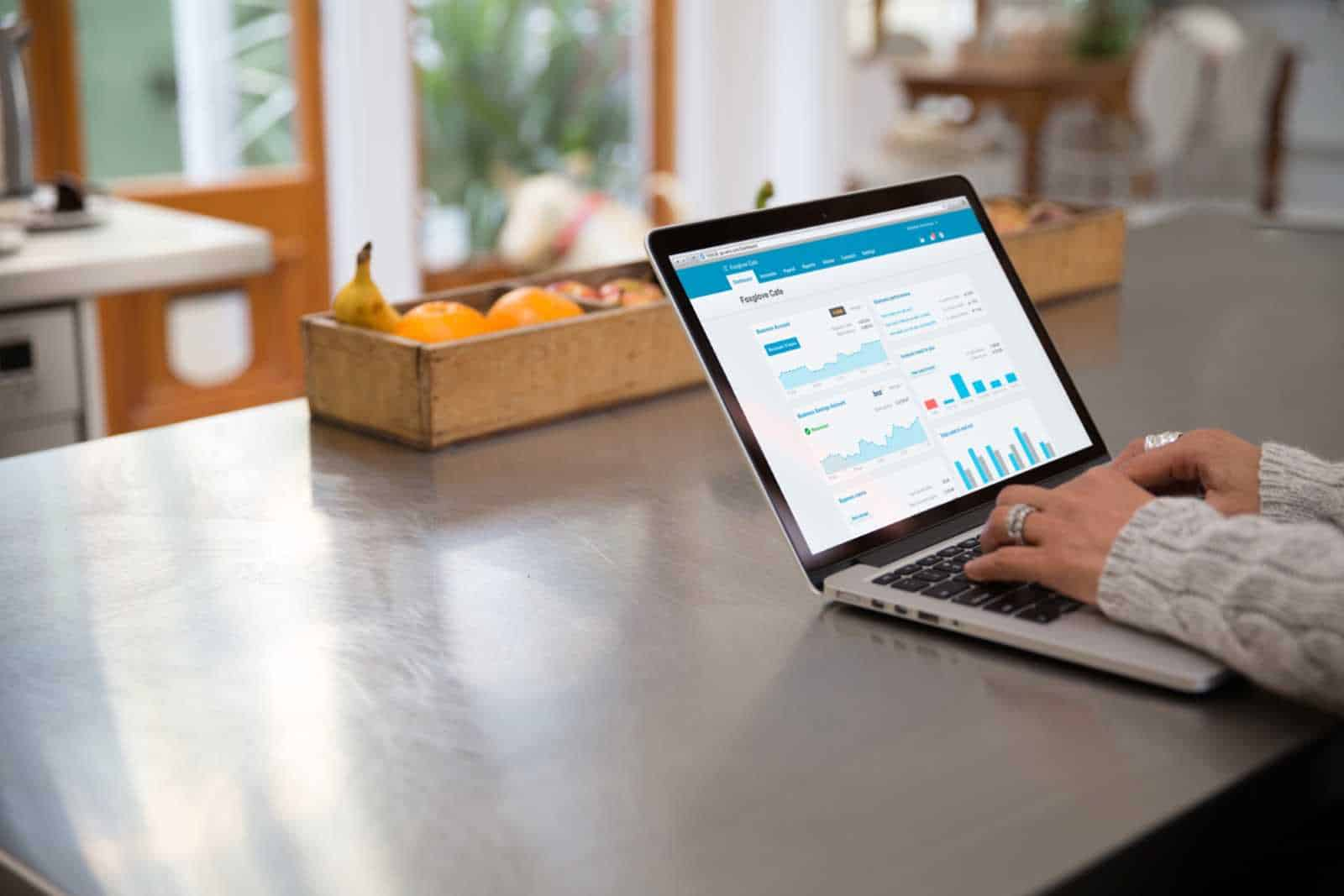 Xero Cloud Accounting & Bookkeeping Software on an Apple Macbook